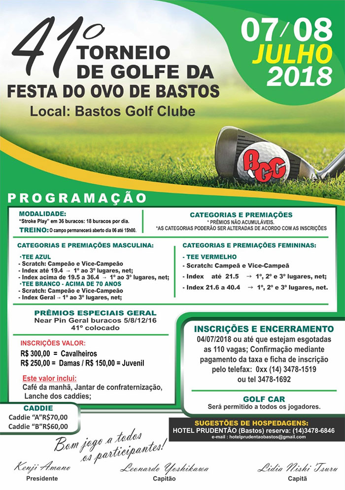 Torneio Festa do Ovo 2018