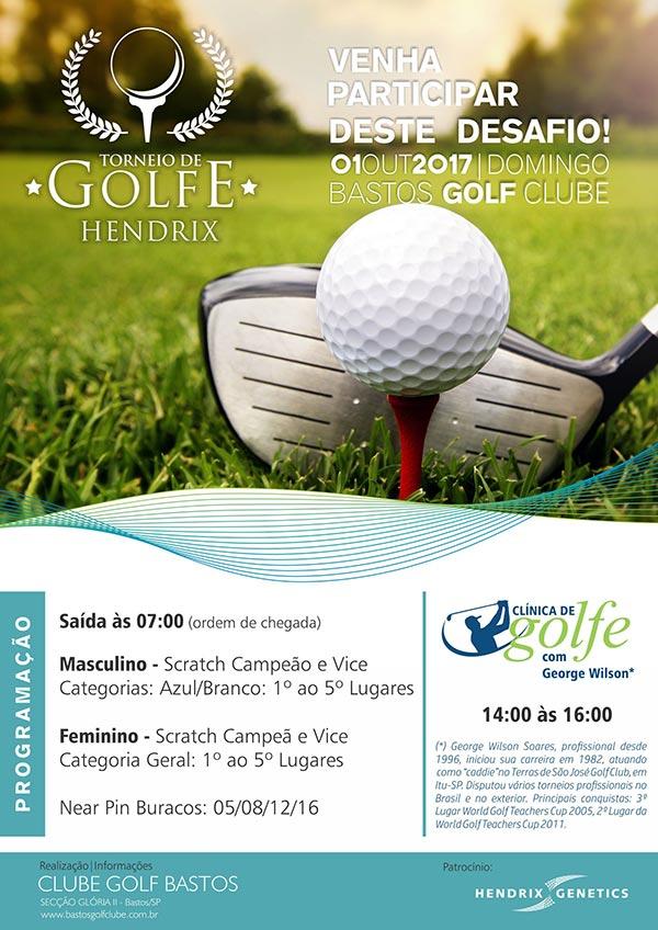 Torneio Golfe Disputa outubro 2017