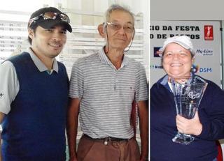 Yoshihide Momose e Leonardo e Dulce Yoshikawa são campeões do 533º Torneio Mensal de Handicap
