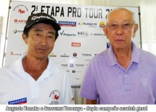Sussumu Yorozuya e Augusto Tanaka vencem Torneio Four Ball Best Ball - Junho 2019