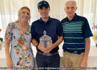 Valdir e Ivanilde Dezan fazem torneio de despedida dos amigos do Bastos Golf Clube