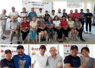 Diogo Uemura, Sussumu Yorozuya e Sandra Hirasaki são campeões do 42º Torneio da Festa do Ovo