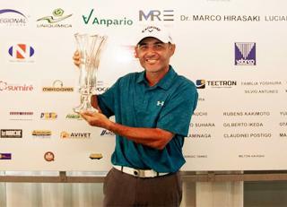 Ronaldo Francisco vence a 2ª etapa do Pro Tour Profissionais de Golfe disputada em Bastos