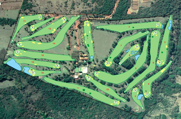 Campo de Golf do Bastos Golf Clube